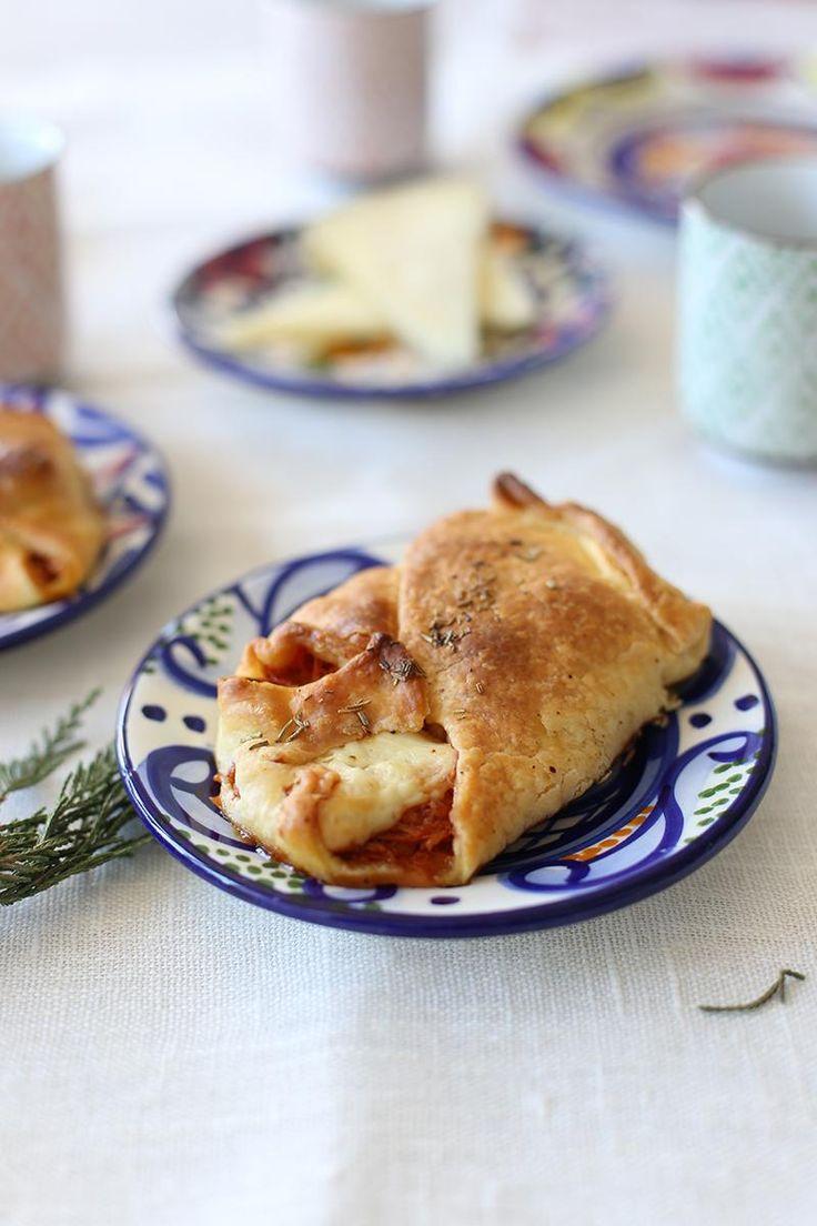 Pastelitos salados de calabaza con queso manchego. ¡Menudo descubrimiento!