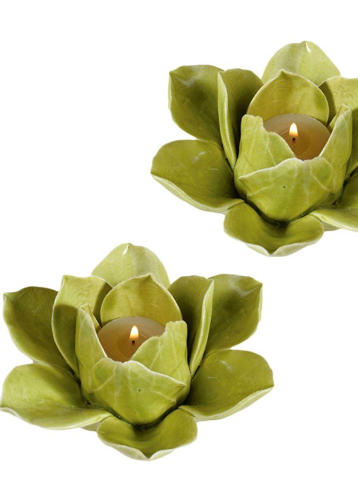 Lotus Petal Tealight - Set of 2