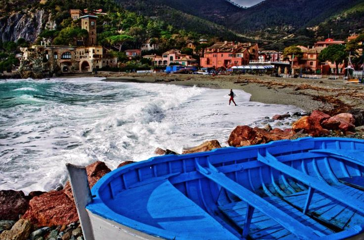 #Ripcurl search, #CinqueTerre starts in Levanto Italy. Photo by #Surf Levanto!