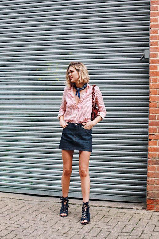 Summer Style: Stripes and Denim | Le Fashion | Bloglovin'