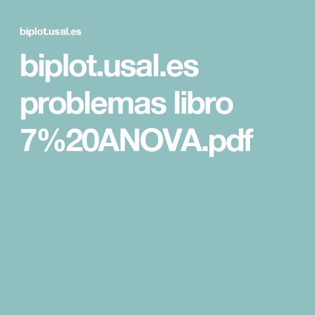 Mejores 29 imgenes de bioestadstica en pinterest uam y cuadrados biplotal problemas libro 720anovapdf urtaz Image collections