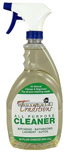 Household Traditions Non-Toxic All Purpose Cleaner giveaway at Untrained Hair Mom!