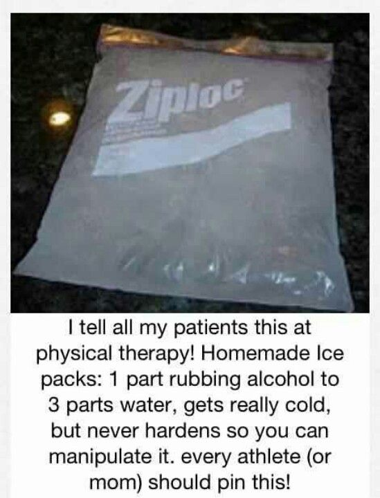 Jell ice bag