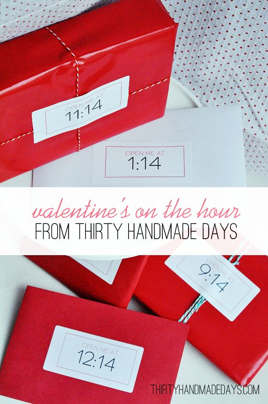 Valentine's, On the hour gift.: Valentine'S Day, Valentines Ideas, Gifts Ideas, Gift Ideas, Anniversaries Ideas, Valentine'S S, Valentines Gifts, Valentines Day, The Hours