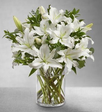 * White Lily Bouquet - Always makes me happy! My favourite flower... One of my !!!Secrets of Happiness!!!