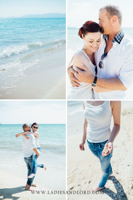 Beach engagement session Palma de Mallorca #verlobungsshooting