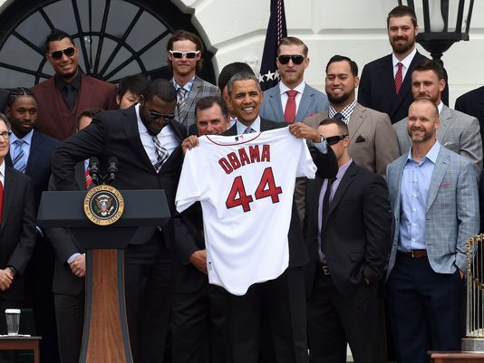 The Red Sox visit the White House (USA Today)
