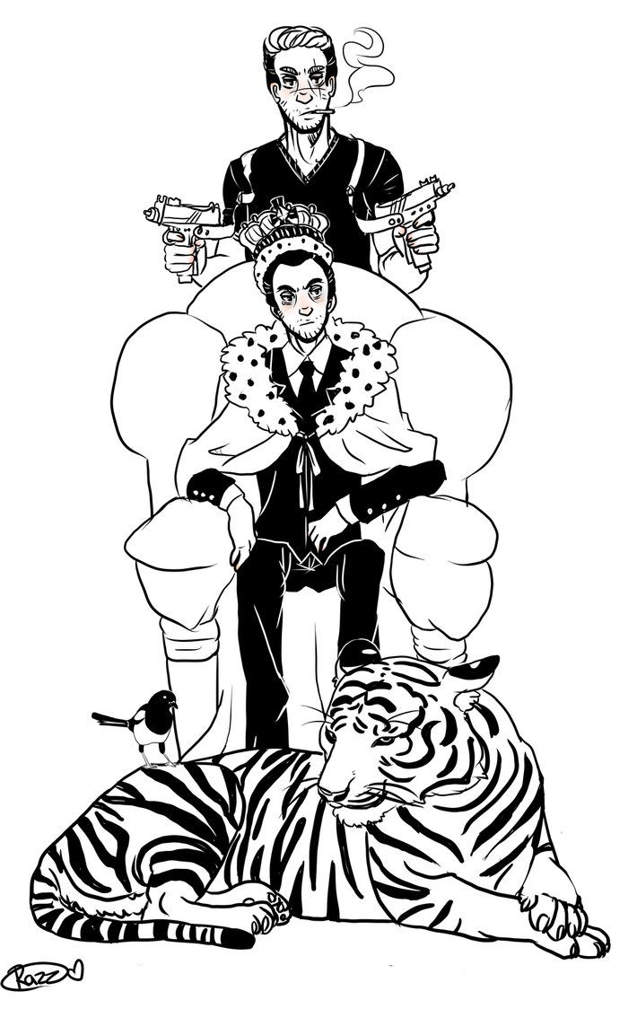 130 best Moriarty and His Tiger images on Pinterest | Sebastian ...