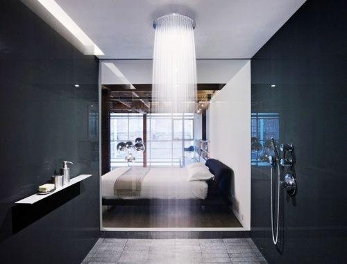 minimalist bathroom shower