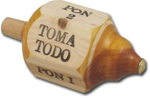 Mexican Toma Todo Game - My Mercado Mexican Imports - A fun #MexicanToy that every #Hispanic family grew up playing. #TomaTodo