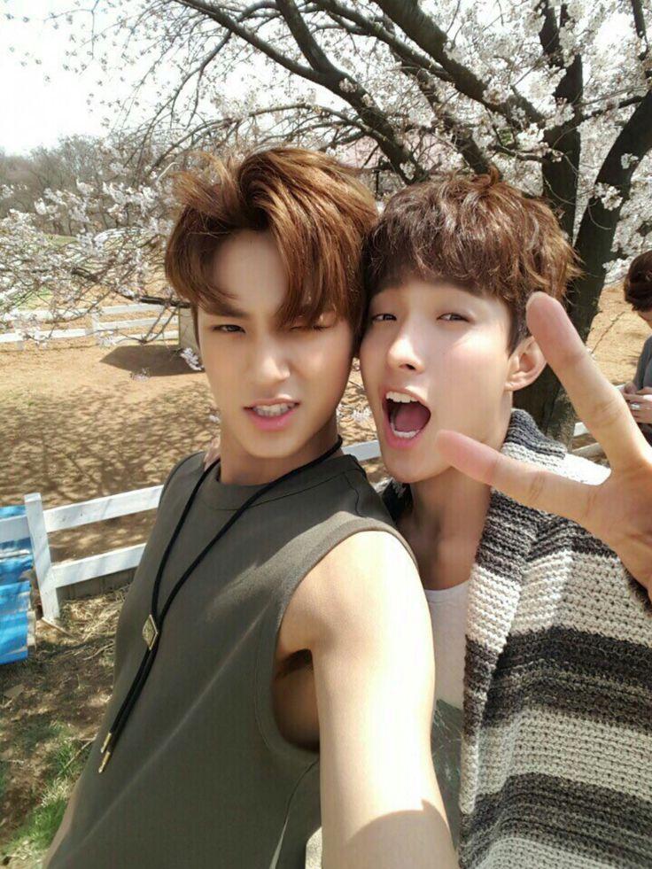 Mingyu and DK