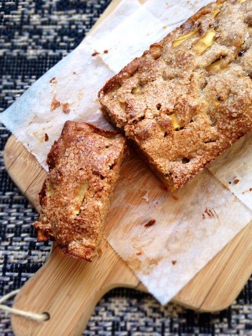 simpele maar heerlijke appel-kaneelcake naar een recept van Mary Berry