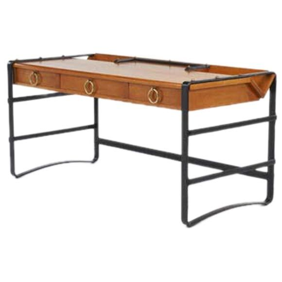modern furniture pieces. jacques adnet leather frame desk modern furniture pieces