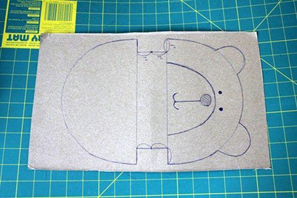 Teddy Bear Quilt Tasche Tutorial