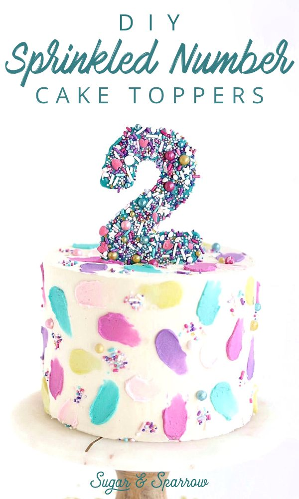 Diy Number Cake Toppers Tutorial Chocolate Cake Toppers Diy Cake Topper Birthday Number Cake Toppers