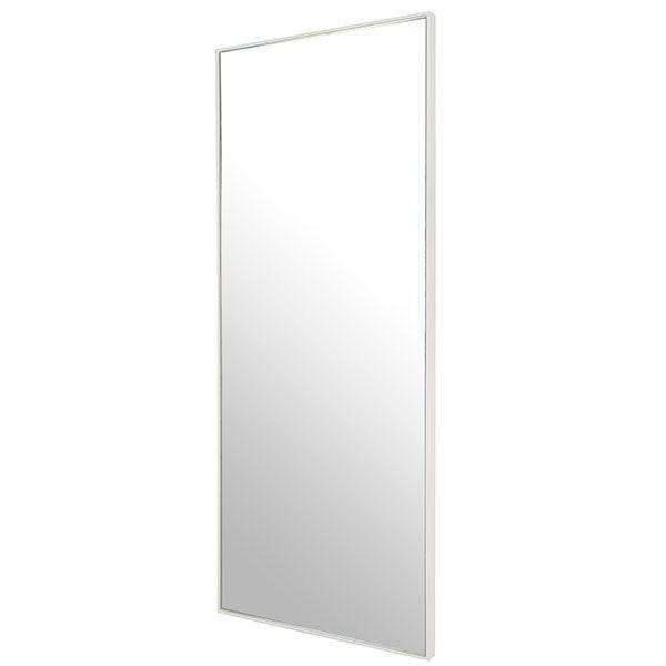 Slimline White 4th Bedroom Mirror