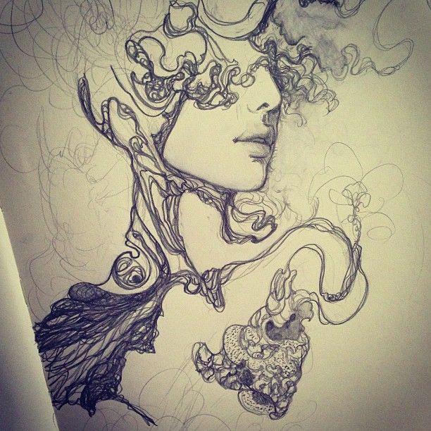 Amazing sketch drawings by Sooj MittonAmazing sketch drawings by Sooj Mitton | KoiKoiKoi