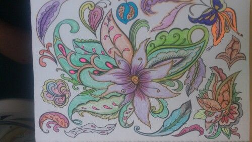 My own colouring relaxation.