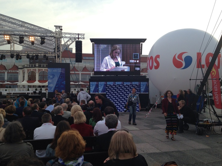 Gala Otwarcia Festiwalu Dwa Teatry 2013-Sopot molo