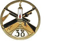 Le 38e régiment d'infanterie (38e RI) est un régiment d'infanterie de l'armée française créé sous la Révolution à partir du régiment de Dauphiné, un régiment français d'Ancien Régime créé en 1629 sous le nom de régiment de Nettancourt.