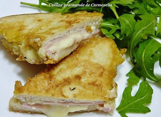 Recette de Sandwich Monte Cristo