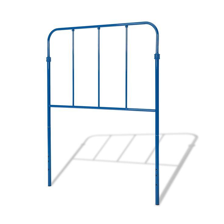 Nolan Metal Kids Headboard - Colbalt Blue - Twin - Fashion Bed Group