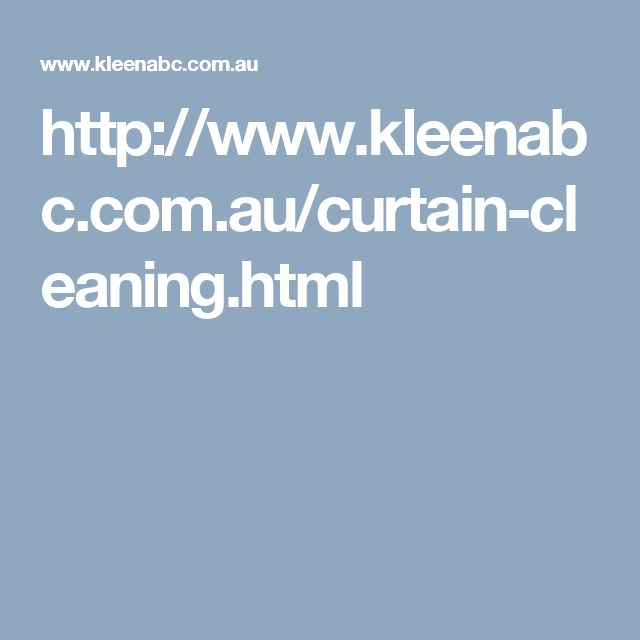 http://www.kleenabc.com.au/curtain-cleaning.html