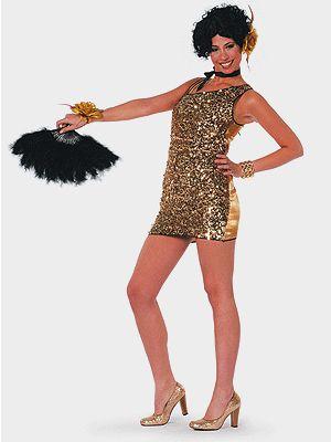 Sexy damesjurk goud  Sexy gouden glitter jurkje voor dames. Dit korte gouden glitter jurkje is aan de voorzijde bedekt met pailletten. De achterkant van deze jurk is glimmend goud van kleur. Het gouden jurkje heeft een schuine halsopening die aan de linkerkant vast zit met dunne bandjes. Kijk voor nog meer gouden artikelen verder in deze winkel.  EUR 39.96  Meer informatie