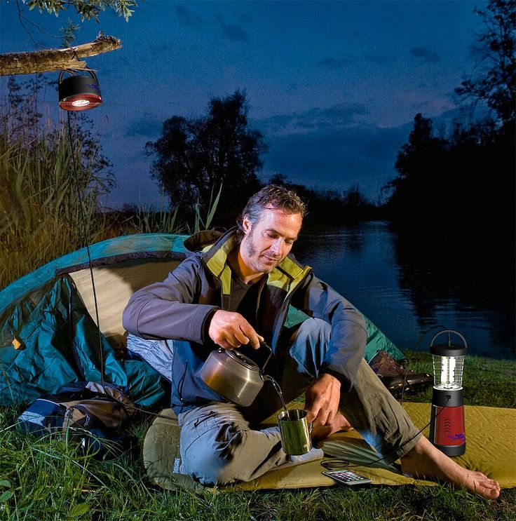 Bring light & DC power everywhere you go with our game changing PL-500 personal lantern, powered by our revolutionary Salt Water EnergyCell