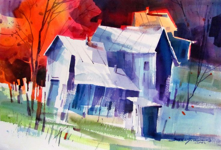 Sterling Edwards #watercolor jd