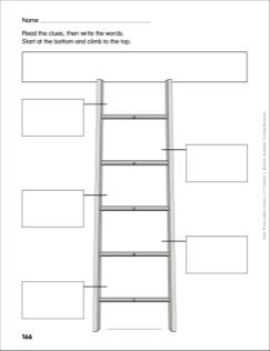 Make-Your-Own Word Ladders Word Ladder (Grades 1-2)