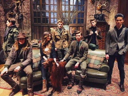 Iveta Mukuchyan attends Polo Ralph Lauren show alongside Ciara at New York Fashion Week