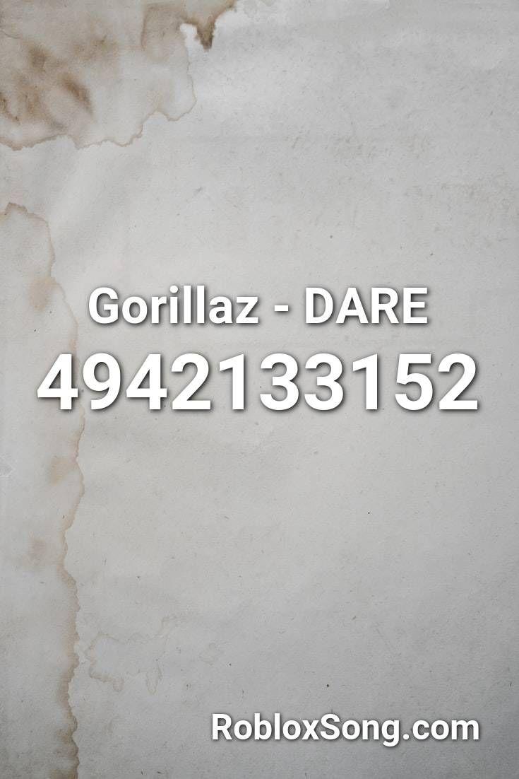 Pin By Kyky Lamascolo On Bloxburg Decals Audio Gorillaz Roblox Dares