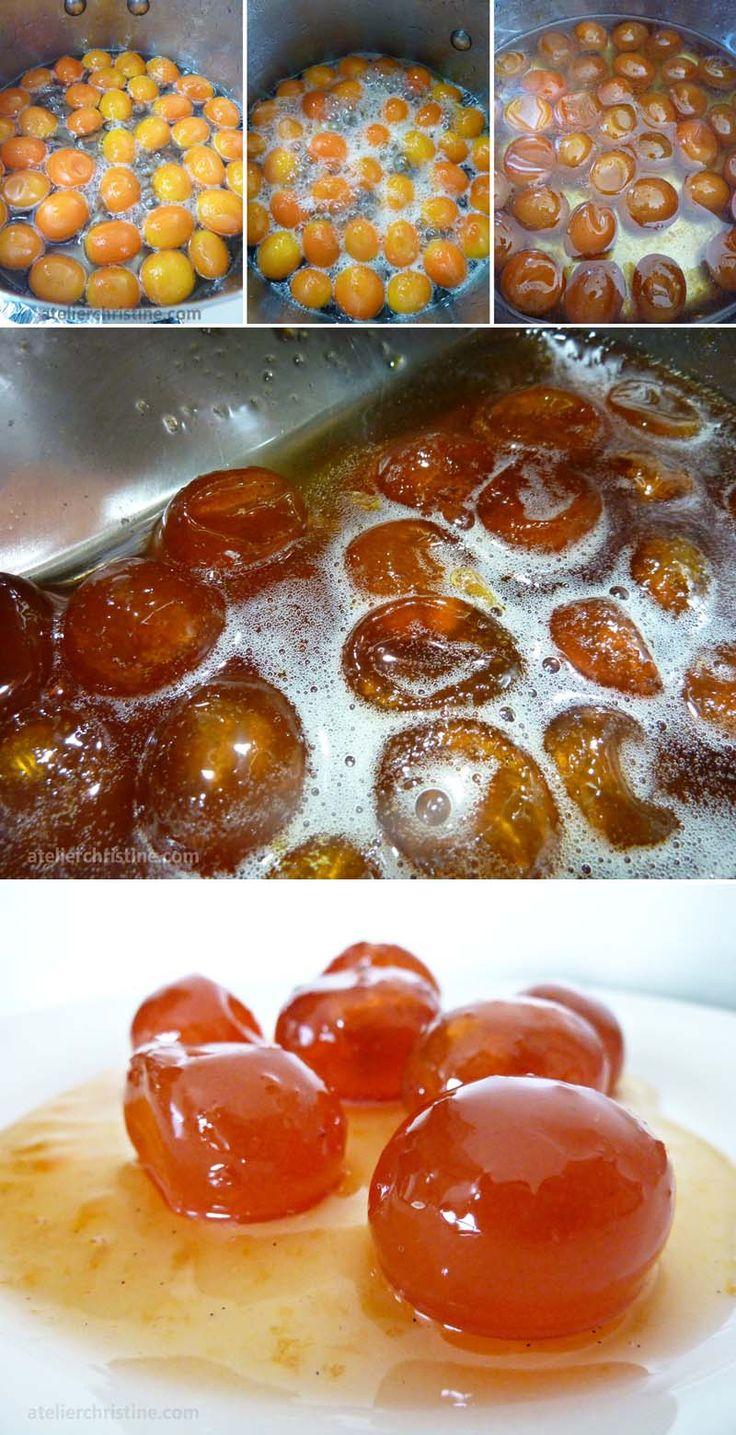 Kumquat + Vanilla Bean Marmalade, #canning #preserves