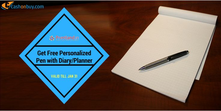 Get #Free #Personalized Pen With #Diary #Planner #cashonbuy #cashback #comparison #discount #price_comparison #shopping #lifestyle #likeforlike #cool #likeus