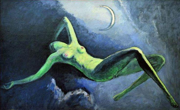 La Nuit ou La Lune Découpée - Kees van Dongen (Night or The Moon Carved)