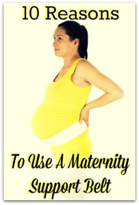 10 Reasons To Use A Maternity Belt (Belly Support Band)