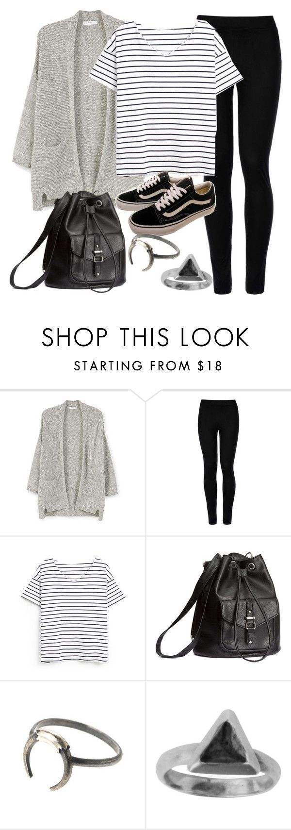 """""""Style #11607"""" by vany-alvarado ❤ liked on Polyvore featuring MANGO, Wolford, Vans, H&M and Zoemou"""