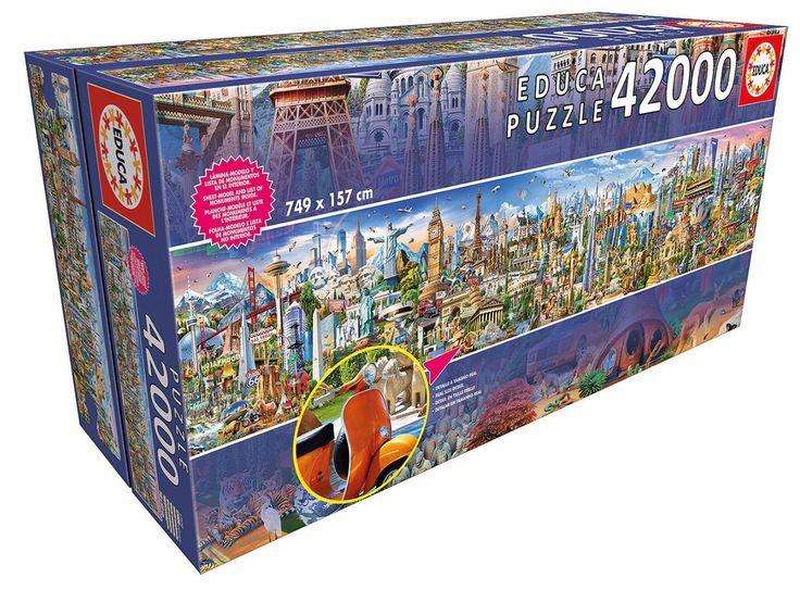Das wahrscheinlich größte Puzzle der Welt mit 42.000 Teilen - http://www.spassmarktplatz.de/groesse/das-wahrscheinlich-groesste-puzzle-der-welt-mit-42-000-teilen/