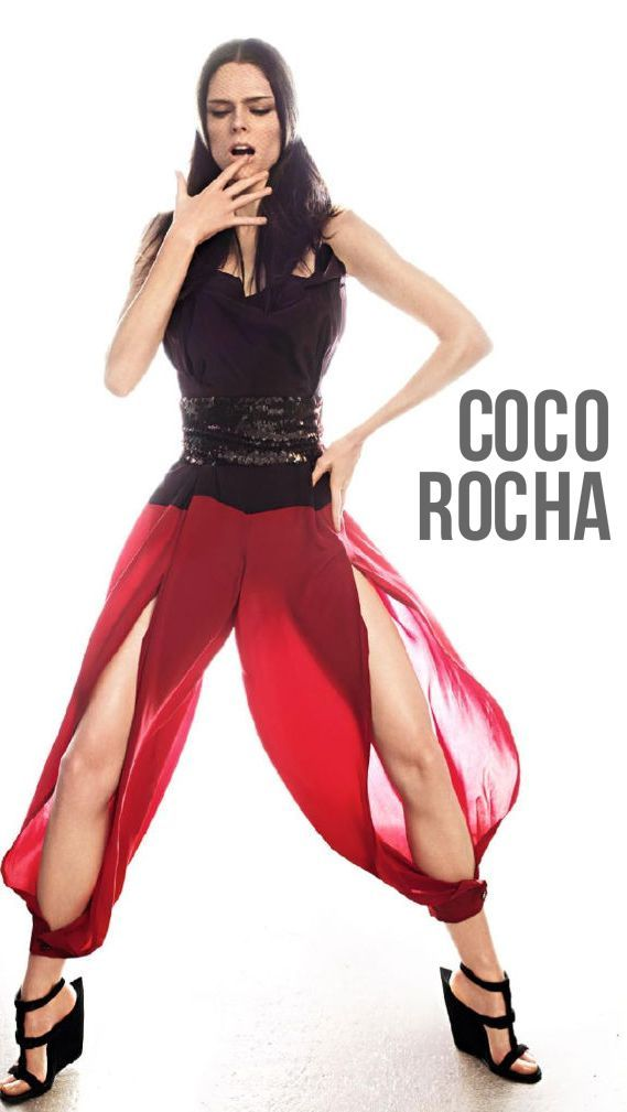 Fashion Model Coco Rocha- Toronto, Canada #fashion #model ...