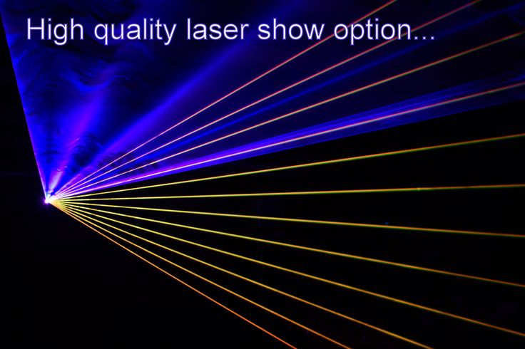 Add a show quality laser to your disco to add a new dimension to the lightshow - DJ Martin Lake
