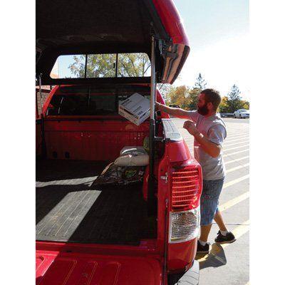 TopperEZLift Truck Topper Lifting Kit — 900Lb. Capacity, 17 1/2in. Lift Height, Model# 1002