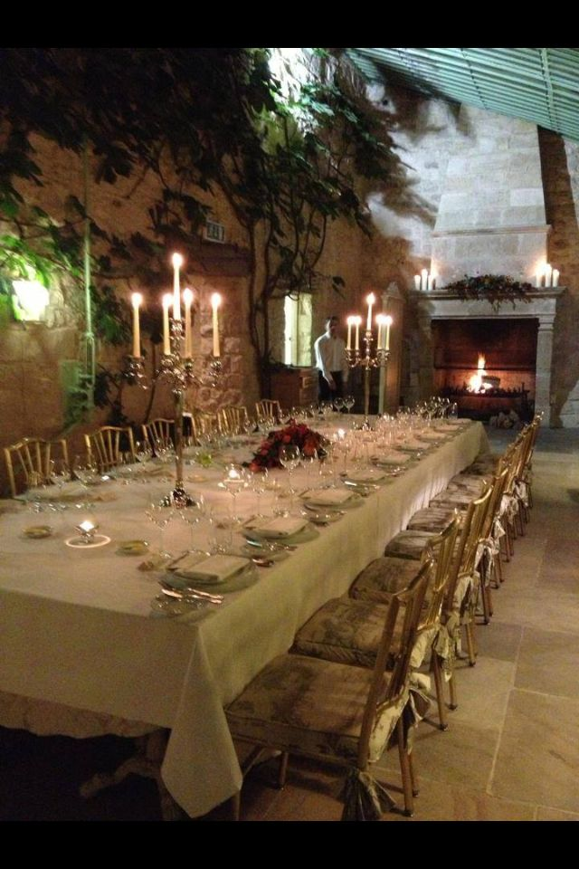 wedding venues in londonderry%0A Private dinner reception for an intimate wedding at the Village at Lyons  Kildare Ireland