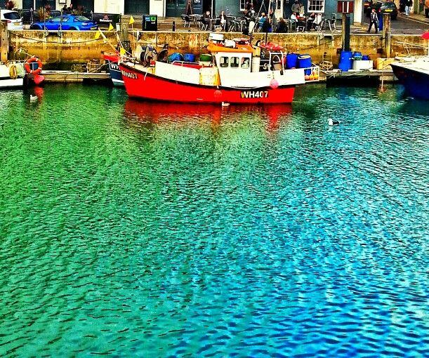 Fishing boat Weymouth.
