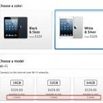 Apple's iPad mini and 4th generation iPad was announced this past Tuesday and was available for Pre-Order 3AM Eastern / 12AM Pacific on Friday. However, within the first 20 minutes of the iPad mini being available for Pre-Order, the white/silver version of the device has already sold out.