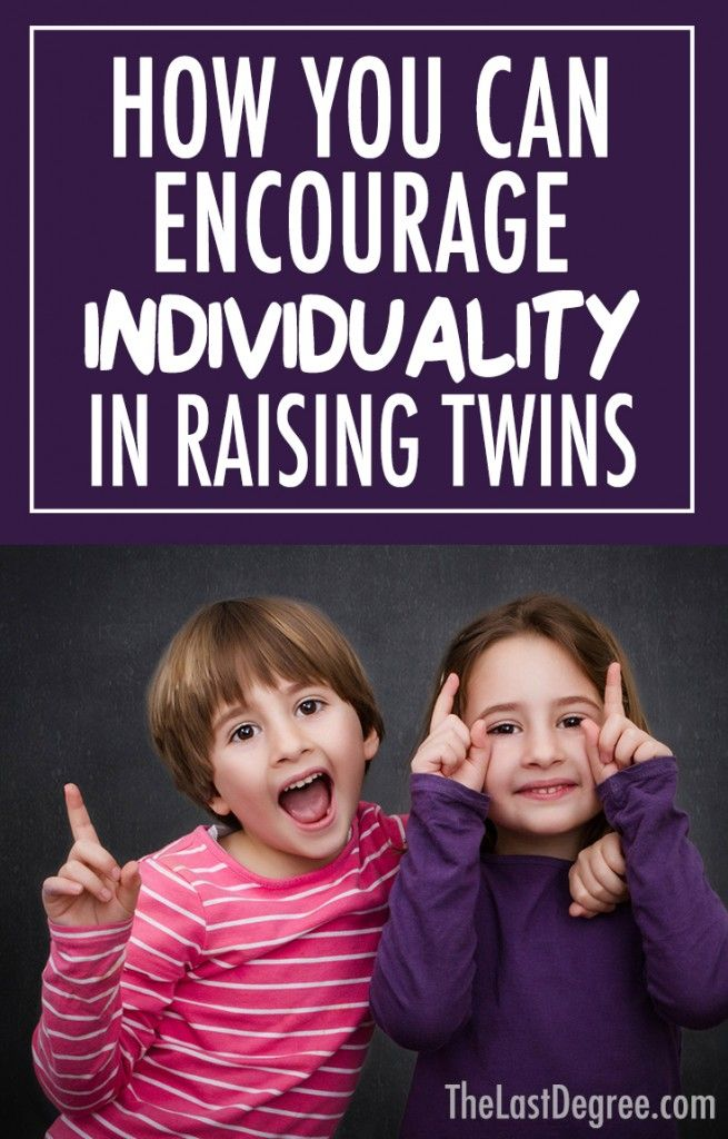 Do you have twins or multiples? Share this article on how you can encourage individuality in raising twins. thelastdegree.com