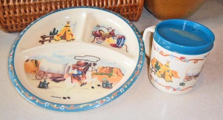 Vintage Western Dinnerware 57
