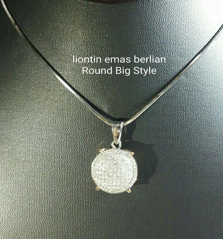 New Arrival🗼. Liontin Emas Berlian Round Bigstyle💎💍.   🏪Toko Perhiasan Emas Berlian-Ammad 📲+6282113309088/5C50359F Cp.Antrika👩.  https://m.facebook.com/home.php #investasi#diomond#gold#beauty#fashion#elegant#musthave#tokoperhiasanemasberlian