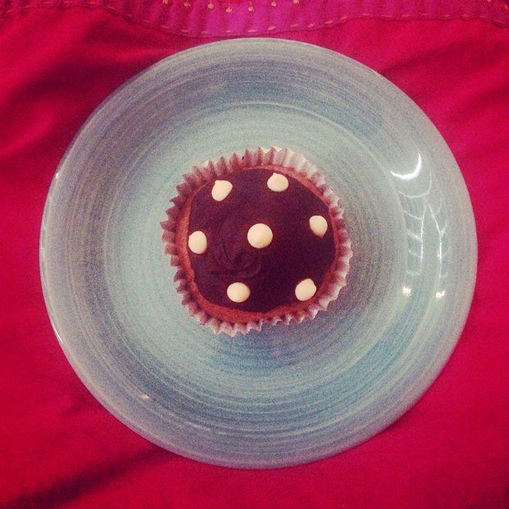 Kat's cupcake.