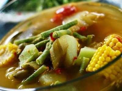 Sayur Asem Bening - Panduan masak atau cara membuat bumbu resep sayur asem bening khas jakarta sunda bandung jawa betawi banjar yang super enak, gurih dan sederhana ada disini.